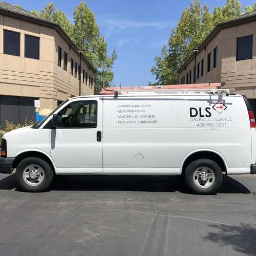 DLS Work Van